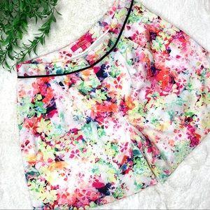 Catherine Malandrino Floral shorts size 4
